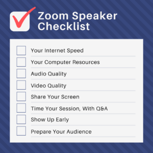 How to Prepare for a Zoom Meeting: Checklist for Speakers